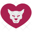 Tiger Leopard Heart Icon