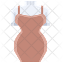 Tight Dress Party Dress Ladies Dress Icon