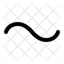 Tilde Approximate Similar Icon
