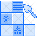 Tile Wall Putty Icon