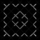 Geometry Square Tile Icon