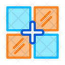 Laying Tiles Different Icon
