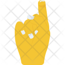 Tilted Finger Icon