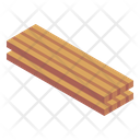 Timber Wooden Timber Plank Icon