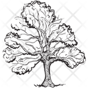 Tree Forest Tree Timber Tree Icon