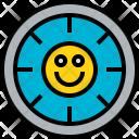 Time Happy Clock Icon