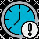Time Notice Clock Icon
