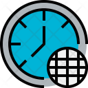 Time World Clock Icon