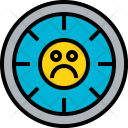 Time Bad Clock Icon