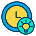 Clock Watch Thinking Time Icon