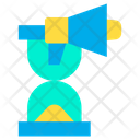Time Hourglass Marketing Time Icon