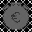 Time Money Euro Icon