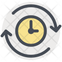Time Repeat Reuse Icon