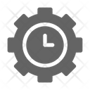 Time Management Business Icon