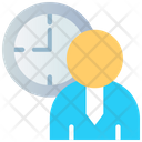 User Time Time Management Icon