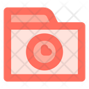 Time Folder Data Icon
