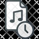 Time File Audio Icon
