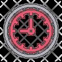 Time Clock Deadline Icon