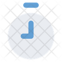 Time Clock Stopwatch Icon