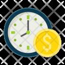 Time Dollar Money Icon