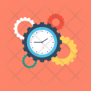 Time Managment Gear Icon