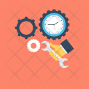 Time Management Settings Icon