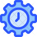 Help Support Time Icon