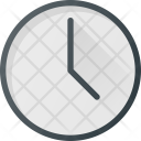 Time Clock Interface Icon