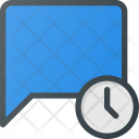 Time Clock Message Icon