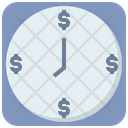 Time Business Capitalism Icon