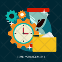 Time Management Process Icon
