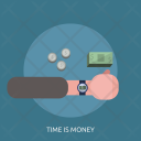 Time Money School Icon