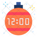 Clock Time Bauble Icon