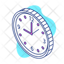 Time Watch Wall Clock Icon