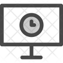 Time Waiting Tv Icon