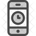 Time Waiting Phone Icon
