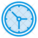 Time Clock Deadline Icon