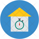 Time House Timing Icon