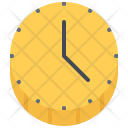 Time Clock Coin Icon