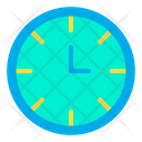 Watch Clock Working Time Icon