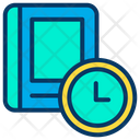 Study Time Reading Time Book Icon