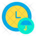 Clock Insurance Protection Icon