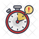 Time Alert Free Time Time Wasting Icon