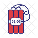 Tnt Time Bomb Bomb Icon