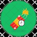 Time Bomb Explosive Bomb Bombshell Icon