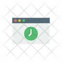 Time Browser Icon