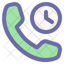 Time Call Icon