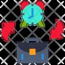 Time Change Job Time Change Icon