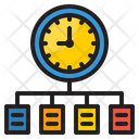 Time Chart Diagram Flow Chart Icon