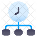 Time Chart Time Diagram Flow Chart Icon